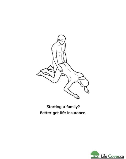 Оформи страховку вместо создания семьи