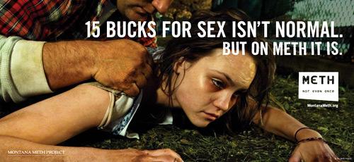 15 баксов за секс под метом нормально
